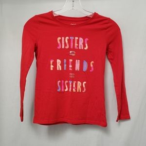 Red Cat & Jack Sisters = Friends Tee